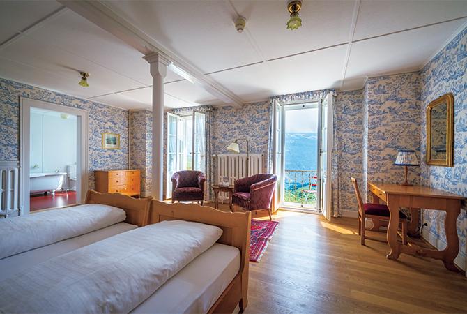 ホテル・ベルビュー・デザルプの客室