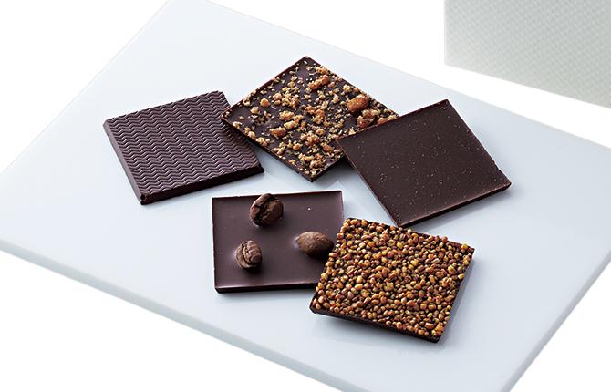 ママノチョコレートの「赤坂カードチョコレート」