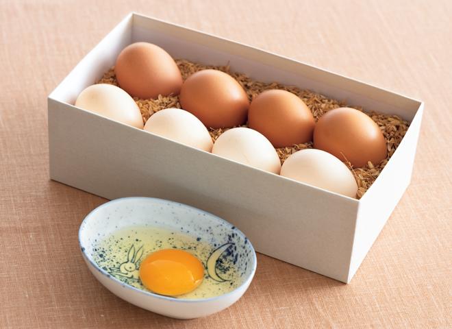 後藤孵卵場の「さくらたまご」「もみじたまご」