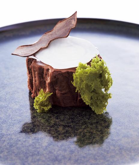 チョコレートのムース