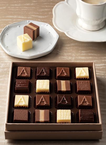 アルマーニのチョコレート