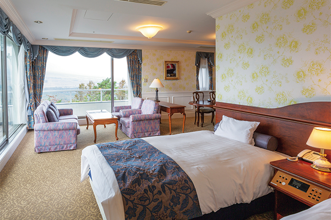 ホテルマウント富士の「インペリアルスイート」
