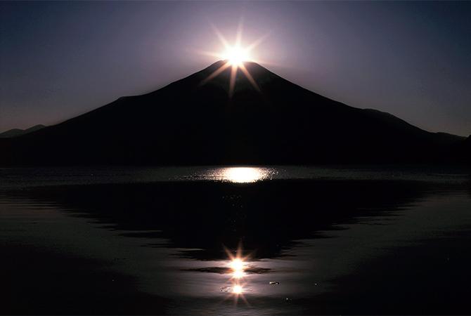 トリプルダイヤモンド富士