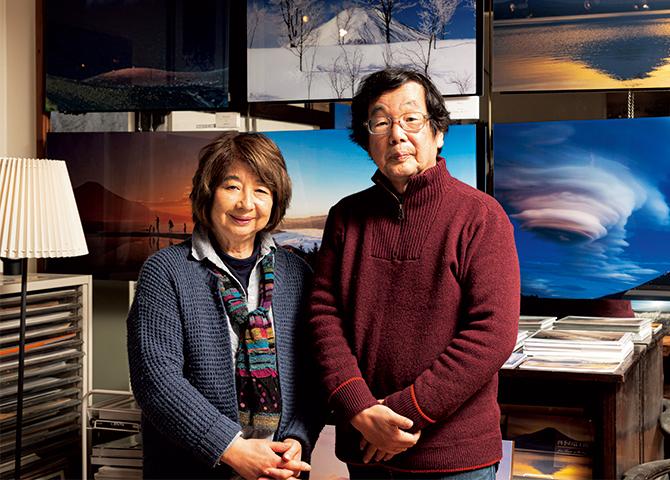 冨塚晴夫さん、裕子さん