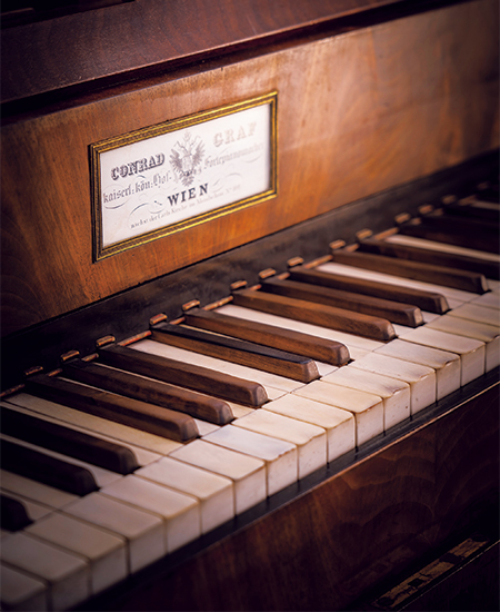グラーフ製フォルテピアノ