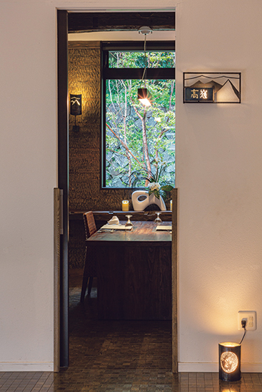 食事用の個室