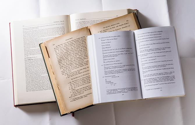 会話帖(活字転写版)、セイヤーによる伝記、新作品カタログ