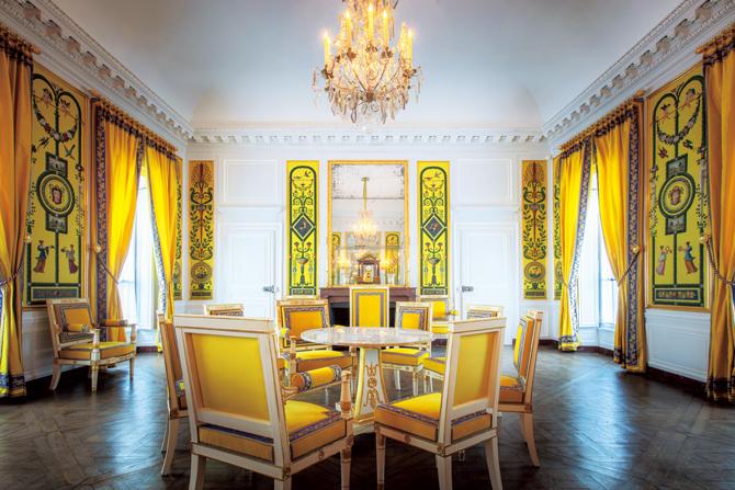 マリー・ルイーズ時代の室内装飾