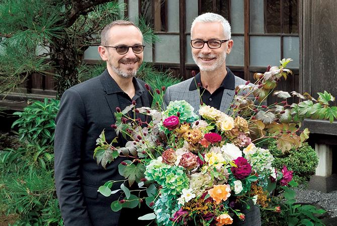 クリストフ・エルベ氏とエマニュエル・サマルティーノ氏