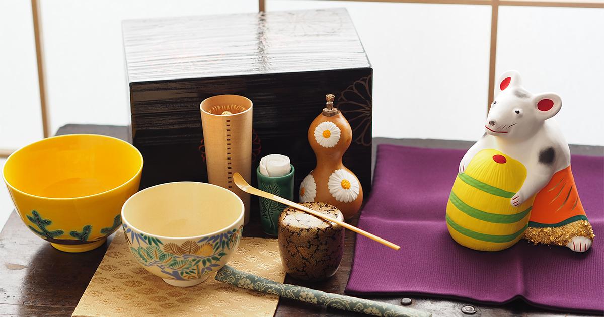 ふくいひろこ「京都発 茶箱あそびつれづれ」