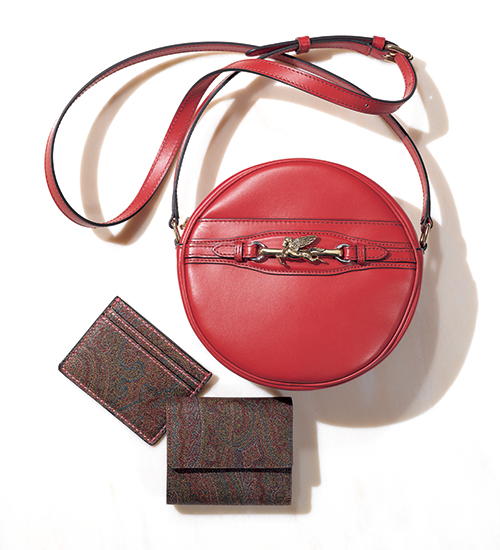 エトロのバッグ「ペガソバッグ」