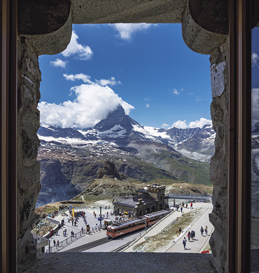 スイス 天空の山岳リゾートへの旅