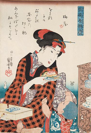 『おいしい浮世絵展~北斎 広重 国芳たちが描いた江戸の味わい~』
