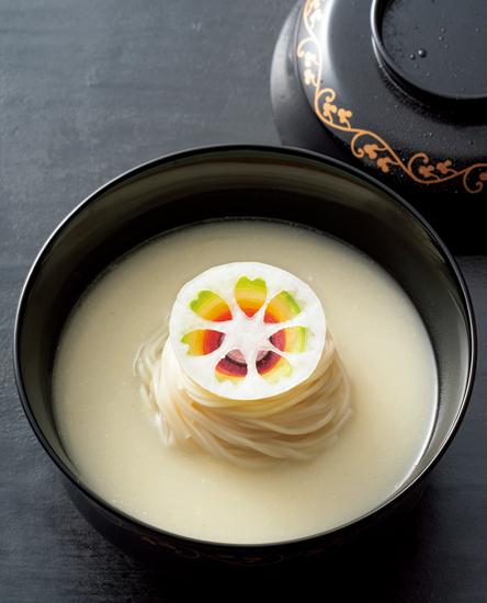 天平文化への憧憬を一汁三菜に込めて