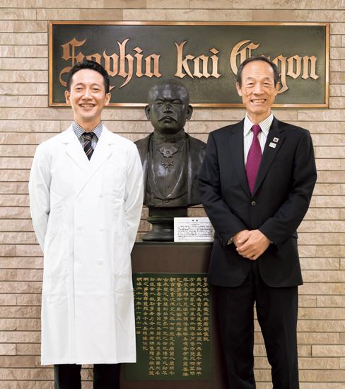 武井さんと山田先生