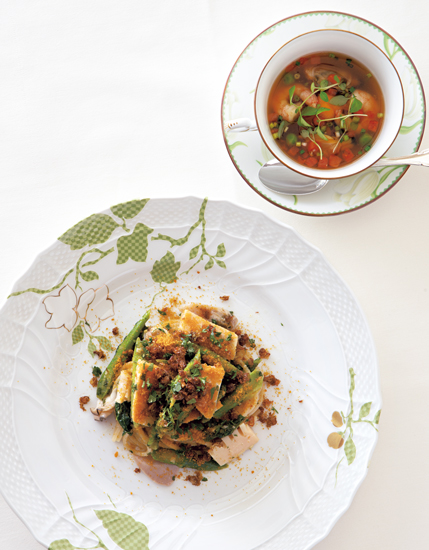 蛤と春野菜のスパゲッティ