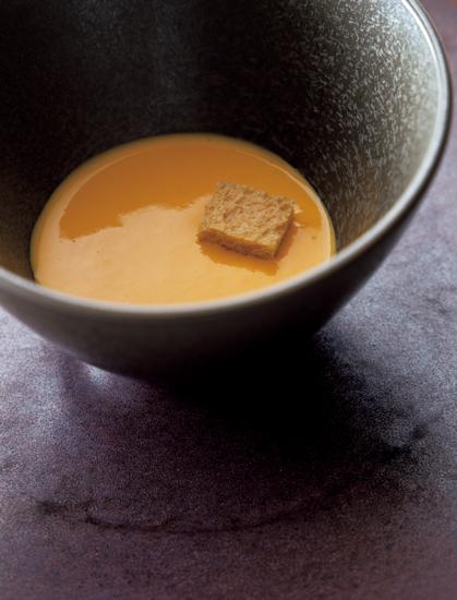 新にんじんのスープ