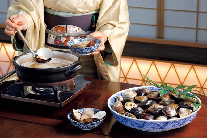 蛤料理 日の出