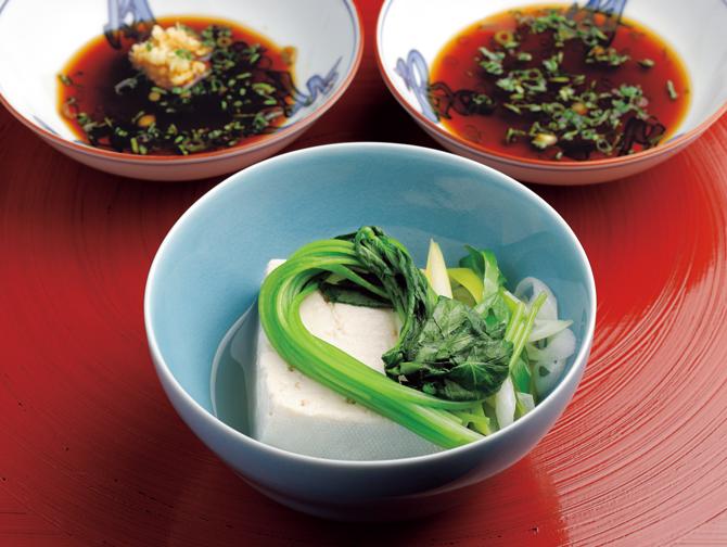 豆腐と野菜