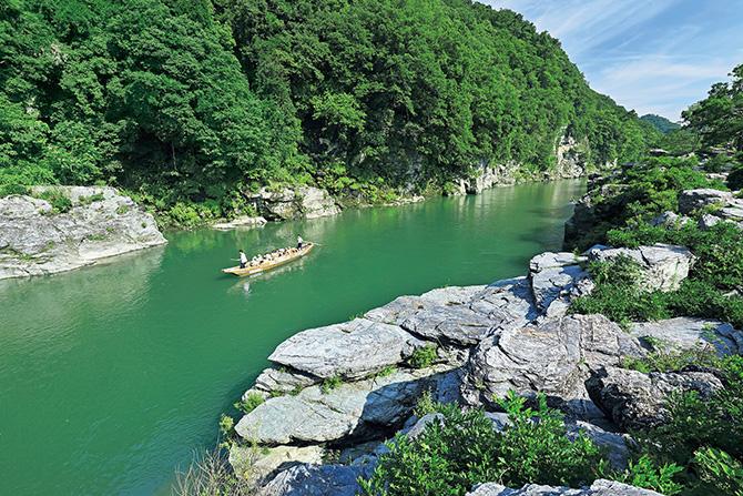 ふるさとの絶景【埼玉県】国指定の天然記念物、長瀞(ながとろ)岩畳