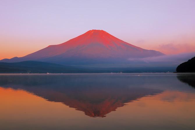 ふるさとの絶景【山梨県】山中湖から見る山中湖から見る