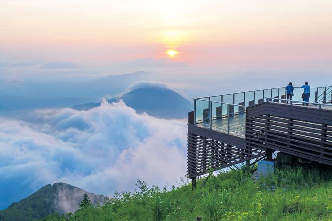 ふるさとの絶景【長野県】標高1770メートルから望む雲海の世界