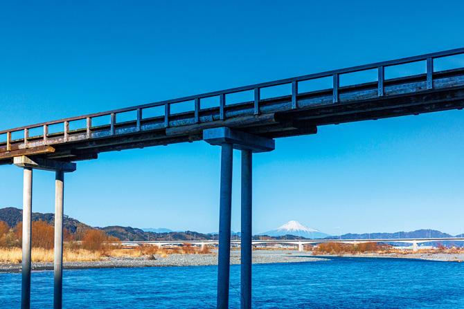 ふるさとの絶景【静岡県】蓬萊橋から眺める富士