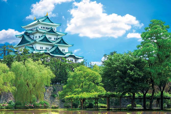 ふるさとの絶景【愛知県】写生会で描いた名古屋城