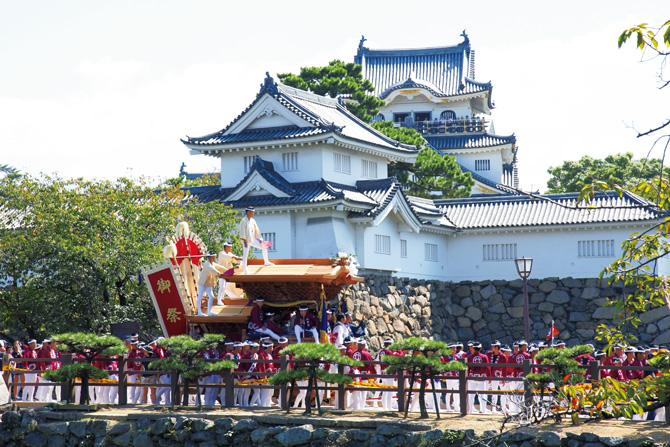 ふるさとの絶景【大阪府】岸和田だんじりと岸和田城
