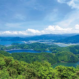 ふるさとの絶景【福井県】レインボーラインから眺める三方五湖