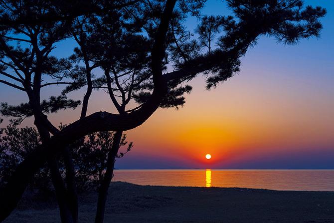 ふるさとの絶景【兵庫県】淡路サンセットラインから眺める夕陽