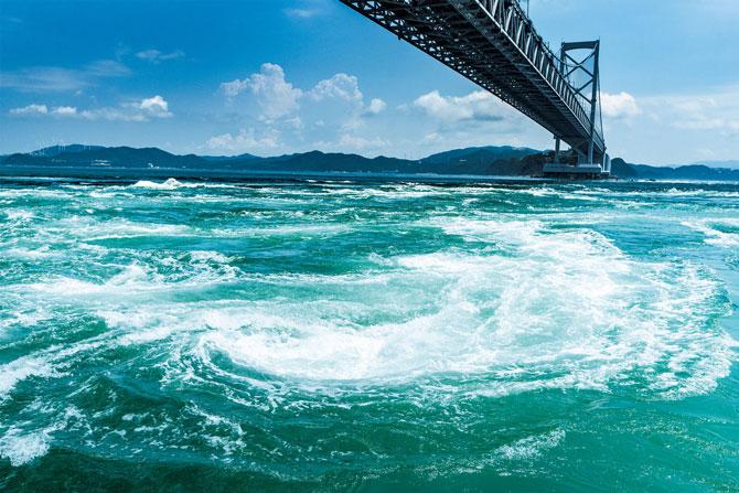 ふるさとの絶景【徳島県】「楽園」の原点、鳴門のうず潮