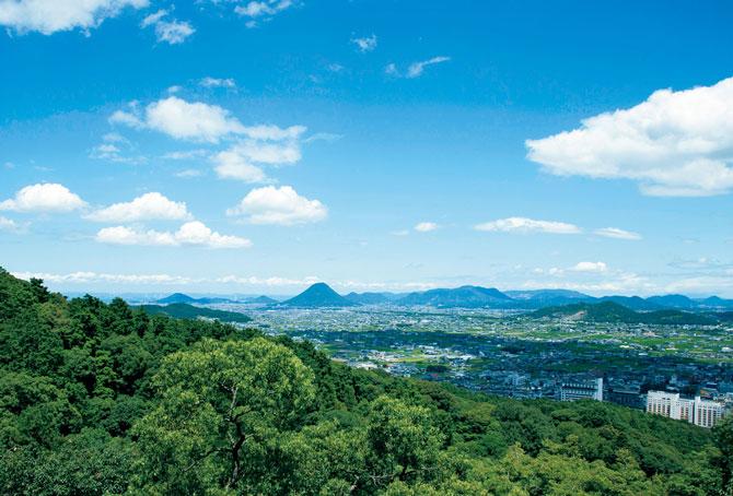 ふるさとの絶景【香川県】金刀比羅宮展望台からの眺め