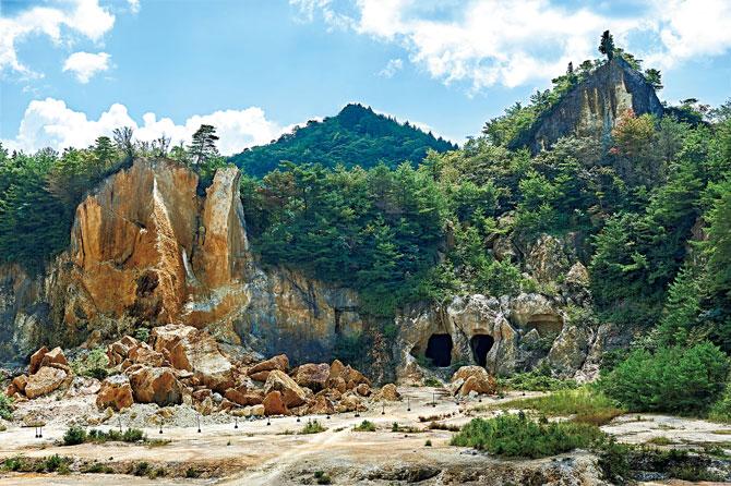 ふるさとの絶景【佐賀県】400年前に発見された有田・泉山の磁石場(じせきば)