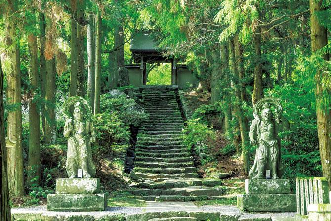ふるさとの絶景【大分県】神仏習合の風景、両子寺(ふたごじ)と宇佐神宮
