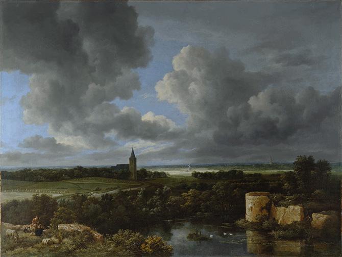 【名画を巡る30日】『城の廃墟と教会のある風景』―世界初「ロンドン・ナショナル・ギャラリー展」へようこそ13