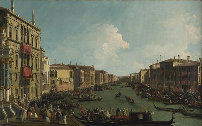 【名画を巡る30日】『ヴェネツィア:大運河のレガッタ』―世界初「ロンドン・ナショナル・ギャラリー展」へようこそ15