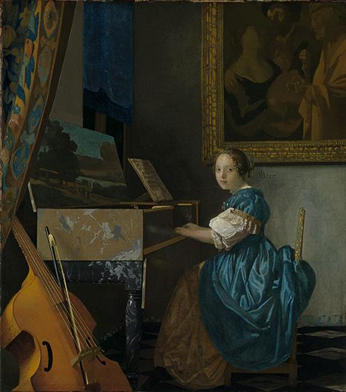 【名画を巡る30日】『ヴァージナルの前に座る若い女性』―世界初「ロンドン・ナショナル・ギャラリー展」へようこそ28