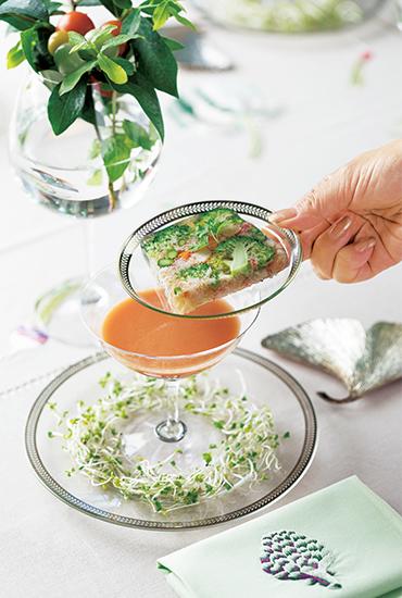 デザート皿、クープグラス、小皿