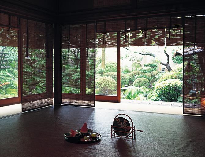 京都の夏座敷