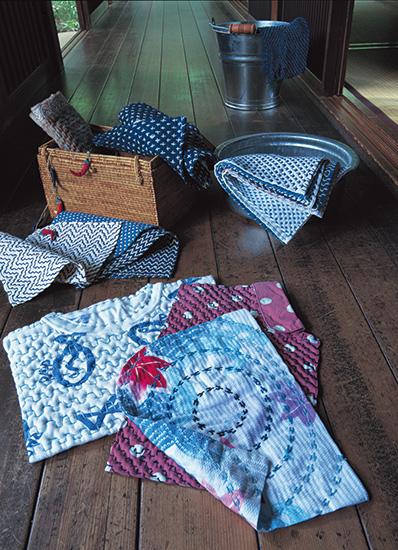 花ふきん、手縫い雑巾