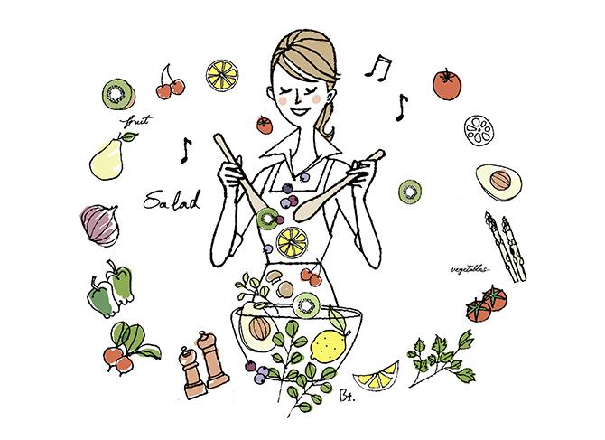 レジェンドレシピ「サラダ」