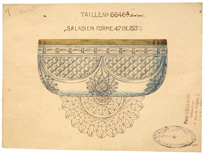 1921年当時の図面