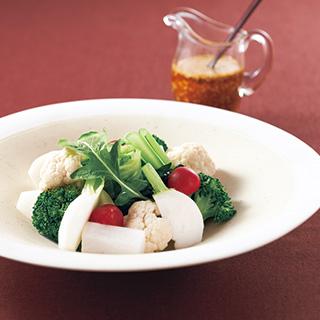 アブラナ科野菜の酵素サラダ