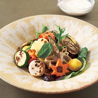 焼き野菜の早吹き寄せサラダ