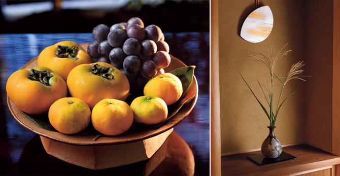 地元の生産者から仕入れる果物
