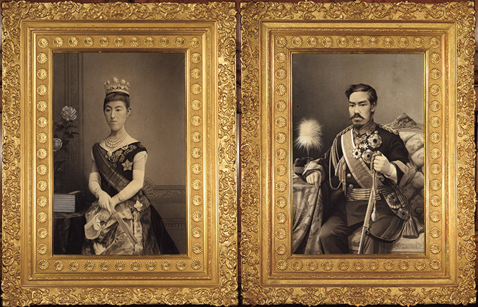 明治天皇、昭憲皇太后