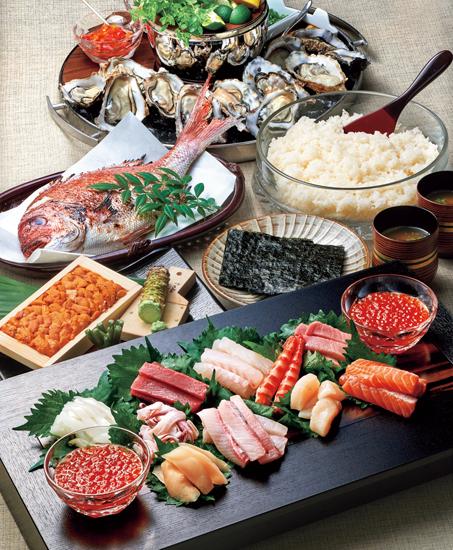 三次水産「手巻き寿司セット」