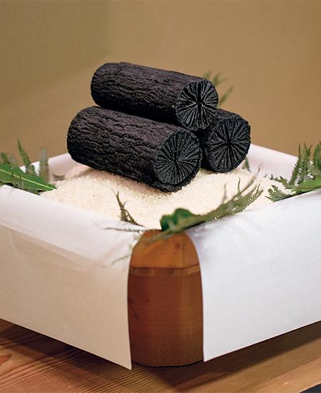 菊乃井の茶室の床飾り