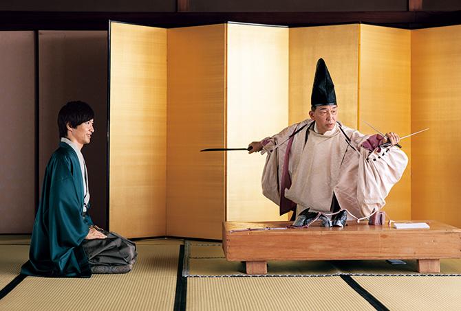 10代目主人小西将清さんと笹岡隆甫さん